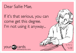 12 Years a Slave...to Sallie Mae?