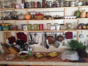 breakfast frittata + Veronica's kitchen