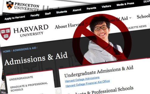 harvard and asians