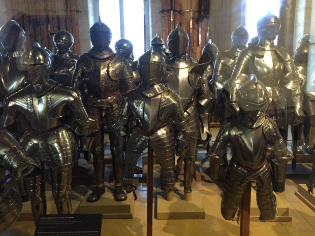 children's armour from the 16th century. My nephews need these for Halloween next year!