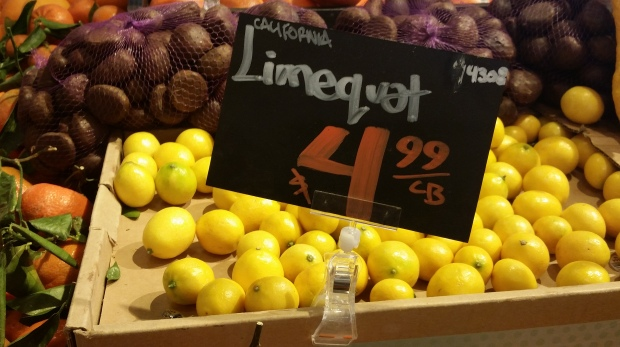 hybrid fruit limequats