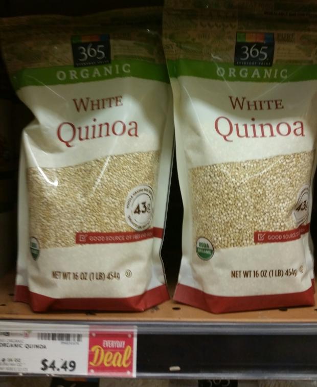 cropped quinoa